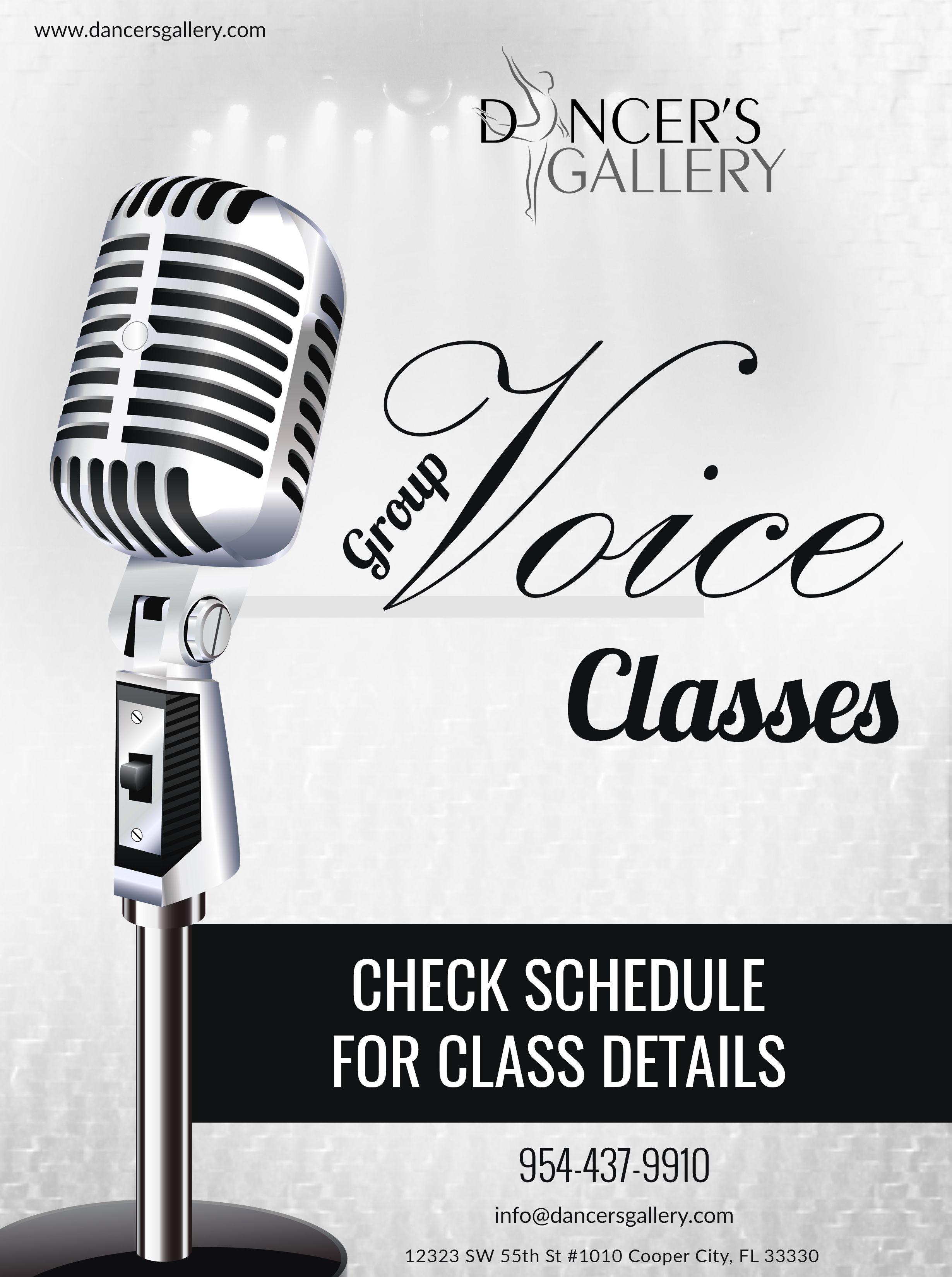 Voice Lessons - Dancers Gallery