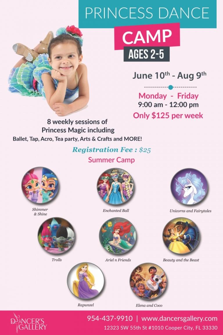 Princess Dance Camp 2019