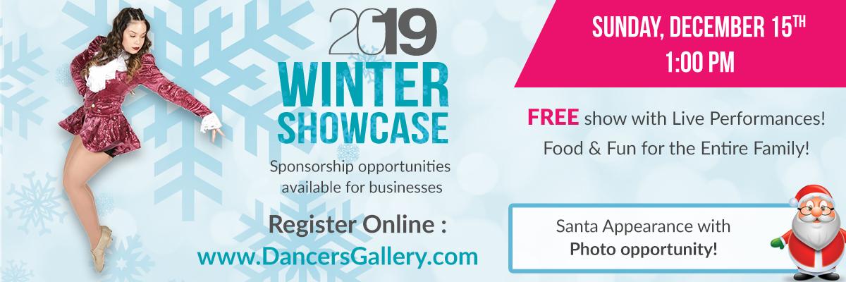 Winter Showcase 2019 - Website Banner