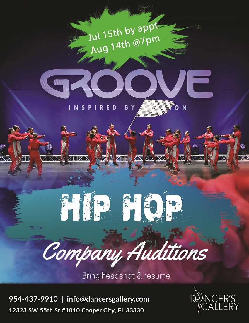 Hip Hop Company Auditions 1