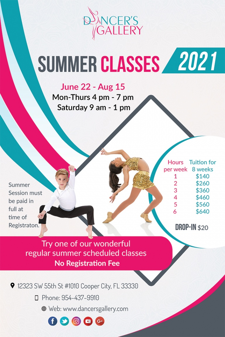 Summer Classes 2021