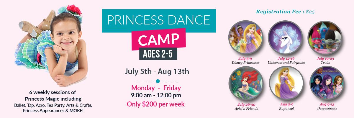 Princess Dance Camp 2021 - Web